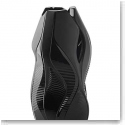 Lalique Crystal, Manifesto By Zaha Hadid Crystal Vase, Black