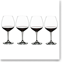 Nachtmann Vivino Burgundy Glasses, Set of 4
