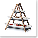 Villeroy and Boch Artesano Ladder Server Centerpiece Set of 4