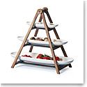 Villeroy and Boch Artesano Ladder Server Centerpiece Set of 4