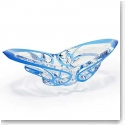 Lalique Crystal, Tourbillons Crystal Bowl, Blue, Limited Edition