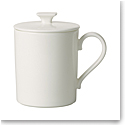 Villeroy and Boch MetroChic Blanc Mug with Lid