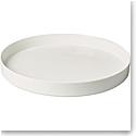 "Villeroy and Boch MetroChic Blanc Round Decorative Tray 13"""