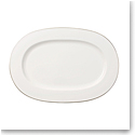 Villeroy and Boch Anmut Platinum Oval Platter 16""