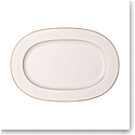 Villeroy and Boch Anmut Gold Oval Platter 16""
