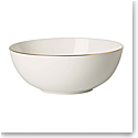 Villeroy and Boch Anmut Gold Round Vegetable Bowl 9""