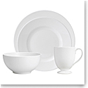 Wedgwood China Wedgwood White 4 Piece Place Setting