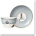 Wedgwood Sailors Farewell Breakfast Cup and Saucer Set