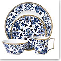 Wedgwood China Hibiscus 4 Piece Expressive Place Setting