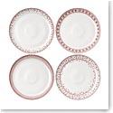 "ED Ellen DeGeneres By Royal Doulton Holiday Dinner Plate 11"" Set of 4"