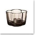 """Iittala Aalto Tealight Candleholder 2.25"""" Linen"""