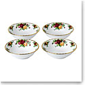 Royal Albert Old Country Roses Bowl Set of Four