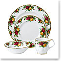 Royal Albert Old Country Roses Four Piece Place Setting