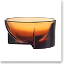 "Iittala Kuru Glass Bowl 5"" Seville Orange"