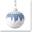 Wedgwood 2020 Skating Ball Ornament