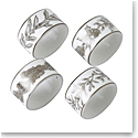 Wedgwood 2020 Winter White Napkin Ring Set of Four