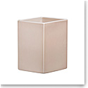 "Iittala Ruutu Ceramic Vase 9"" Beige"