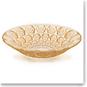 Lalique Anemones Bowl, Gold Luster