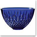 "Waterford Treasures of the Sea, Araglin 8"" Bowl Blue"