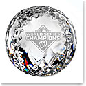 Waterford 2019 MLB World Series Champions, Washington Nationals Baseball Paperweight, Limited Edition