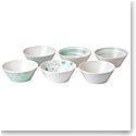 "Royal Doulton Pacific Mint6.3"" Bowl Set of Six"