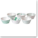 Royal Doulton Pacific Mint Tapas Bowl Set of Six