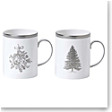 Wedgwood 2020 Winter White Mug Pair