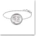 Lalique Le Baiser Bracelet, Silver