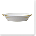Wedgwood Anthemion Grey Oval Serving Bowl 1.3 L