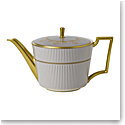 Wedgwood Anthemion Grey Teapot 1 L