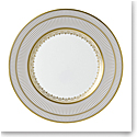 Wedgwood Anthemion Grey Dinner Plate 10.75""