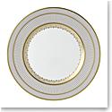 "Wedgwood Anthemion Grey Dinner Plate 10.75"""