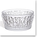 Lalique Crystal, Bacchantes Crystal Bowl, Clear