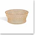 Lalique Jungle Bowl, Gold Luster