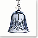 Waterford 2020 Lismore Bell Ornament Topaz Ice
