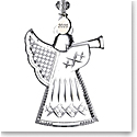 Waterford 2020 Angel with Trumpet Ornament