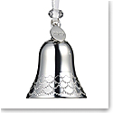Waterford 2020 Silver Bell Ornament
