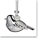 Waterford 2020 Silver Robin Ornament