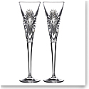 Waterford 2021 Times Square Clear Flute Pair