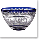 "Waterford 2020 Christmas Master Craft 11"" Bowl Cobalt"