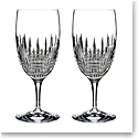 Waterford Crystal Lismore Diamond Essence Iced Beverage Pair