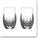 Waterford Crystal Lismore Nouveau Stemless White Wine Pair