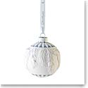 Wedgwood 2021 Frosted Pine Bauble Ornament