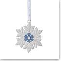 Wedgwood 2021 Figural Snowflake White Ornament