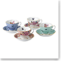 Royal Albert Miranda Kerr Friendship Teacup and Saucer Set of 4