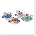 Royal Albert Miranda Kerr Friendship Teacup and Saucer Set of 4
