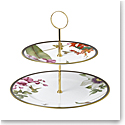 Wedgwood Hummingbird Cake Stand Two-Tier