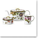 Wedgwood Hummingbird 3-Piece Tea Set (Teapot, Sugar and Creamer)
