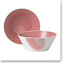 Royal Doulton Signature 1815, Cereal Bowl 6.3'' Pair Coral