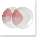Royal Doulton Signature 1815, Dinner Plate 11.3'' Pair Coral